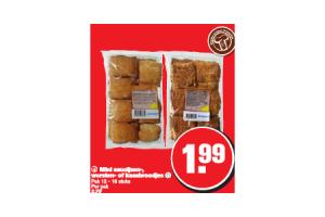 mini saucijzen  worsten  of kaasbroodjes
