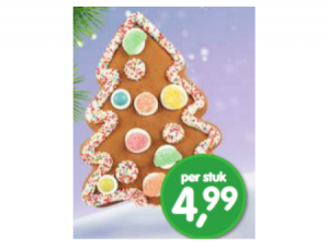gingerbread kerstboom