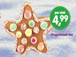 gingerbread ster