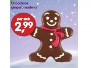 chocolade gingerbreadman