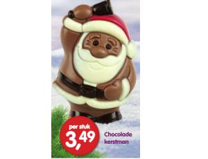 chocolade kerstman