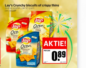 lays crunchy biscuits of crispy thins