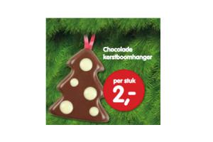 chocolade kerstboomhanger