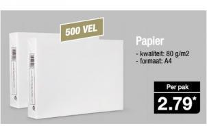 papier 500 vel