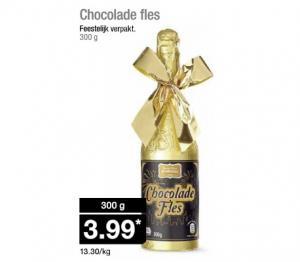chocolade fles
