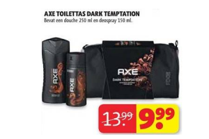 axe toilettas dark temptation