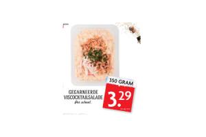 gegarneerde viscocktailsalade