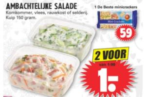 ambachtelijk salade