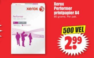 xerox performer printpapier