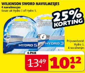 wilkinson sword navulmesjes