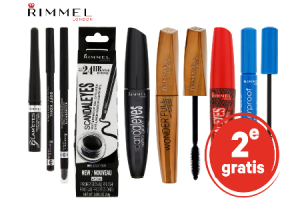 mascara oogpotlood en eyeliner