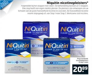 niquitin nicotinepleisters