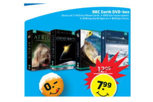 bbc earth dvd box