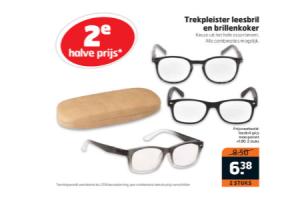 leesbril en brillenkoker