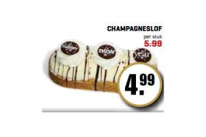 champagneslof