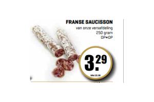 franse saucission