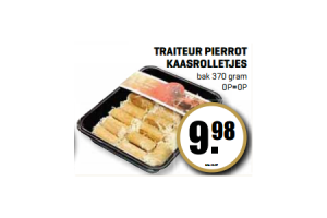 traiteur pierrot kaasrolletjes