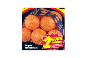 super navelina sinaasappelen