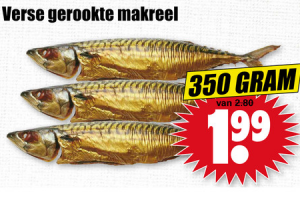 verse gerookte makreel