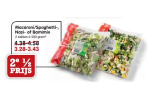 macaronispaghetti  nasi  of bamimix
