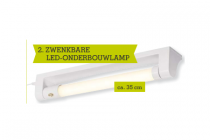 zwenkbare led onderbouwlamp