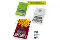 voedingswaarde analyseweegschaal