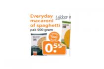 everyday macaroni of spaghetti pak 500 gram