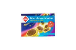 c1000 mini choco shooters chocoladewafels met caramel of hippokoekjes