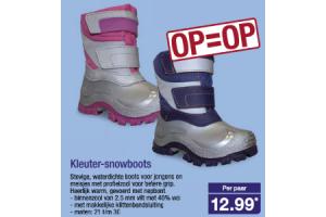 kleuter snowboots