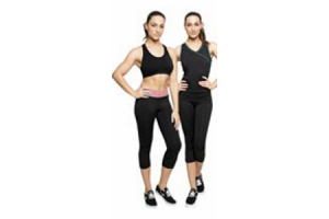 dames capri sportlegging of tanktop