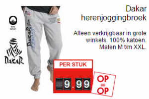 dakar herenjoggingbroek