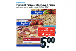 markant pizza of steenoven pizza
