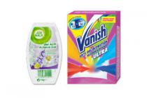 airwick gels of aerosols of vanish kleurbeschermer