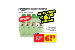 schwarzkopf shampoo multipak