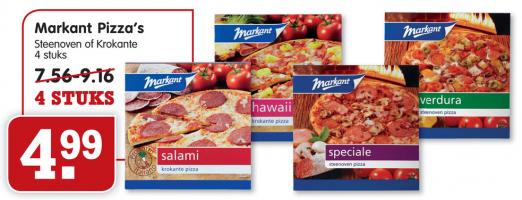 markant pizzas