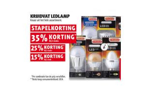 Kruidvat ledlamp 35% korting - Beste.nl