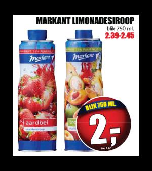 markant limonadesiroop