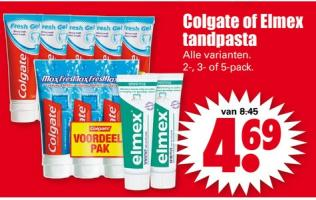 colgate of elmex tandpasta