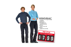 softshell skibroek