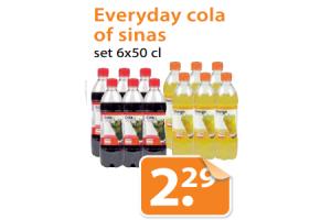 everyday cola of sinas