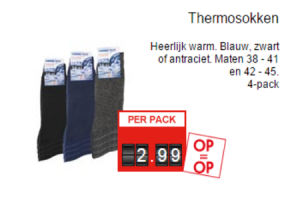 thermosokken