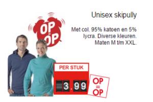unisex skipully