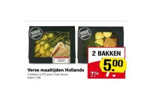 verse maaltijden hollands