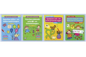 kleur  speel  en oefenboekjes