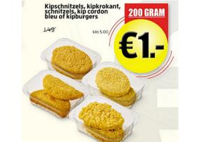 kipschnitzels kipkrokant schnitzels kip cordon bleu of kipburgers