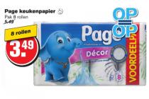 page keukenpapier