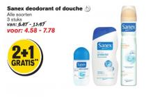sanex deodorant of douche