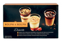 rolph  rolph mini desserts fruit of koffie 6stuks