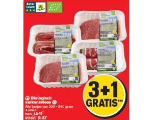 biologisch varkensvlees