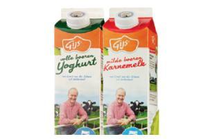 gijs melk karnemelk yoghurt of vla